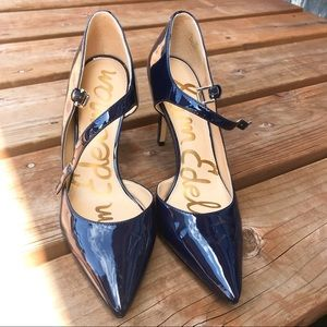 Sam Edelman navy pumps, size 7